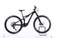 Orbea Rise M20 Fully E-Bike coal blue / red gold 2021