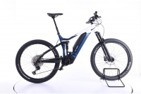 Flyer Uproc4 6.30 Fully E-Bike space blue solid white matt 2021 750 Wh