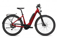 Flyer Upstreet5 7.10 E-Bike Tiefeinsteiger mercury red gloss 2021 750 Wh