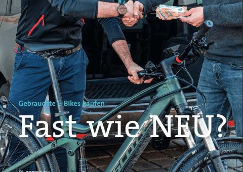 Gebrauchte E-Bikes kaufen - Fast wie Neu?