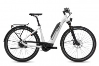 Flyer Upstreet5 5.40 E-Bike Tiefeinsteiger pearl white gloss 2021 630 Wh
