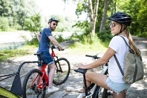 E-Bike fahren ist gesund