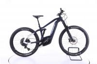 Haibike AllMtn 3 Fully E-Bike 2021 blue sparkling white