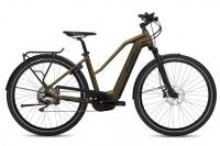 Flyer Upstreet4 7.10 E-Bike Damen vintage brass gloss 2021 500 Wh